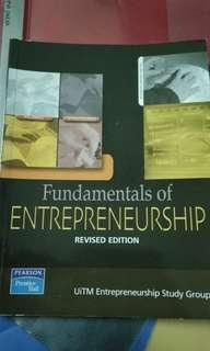 Fundamentals of entrepreneurship uitm ent400