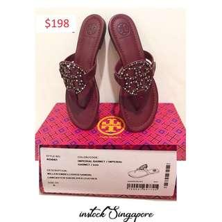 Brand New Instock Authentic Tory Burch Sandal.