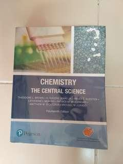 Chemistry The Central Science Pearson 14th Ed.