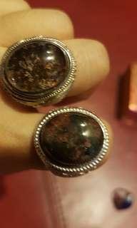 green ghost phantom crystal ring 绿幽灵戒指