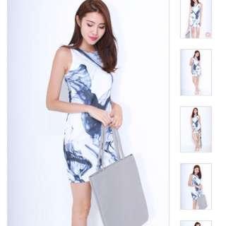 🚚 Neonmello Marble Dress