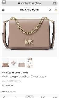 RUSH SALE!!! MK crossbody bag