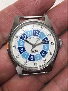古董星辰「子供教育用時計」手上鍊手錶