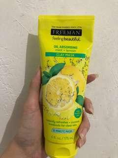 Freeman lemon mask
