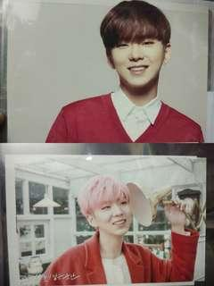 monsta x kihyun postcard & oath card