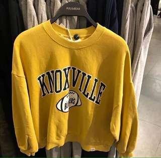 Sweater pull&bear mustard