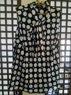 Original Nine West Polkadot Blouse