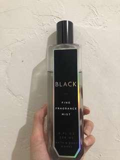Bath and bodyworks black body mist