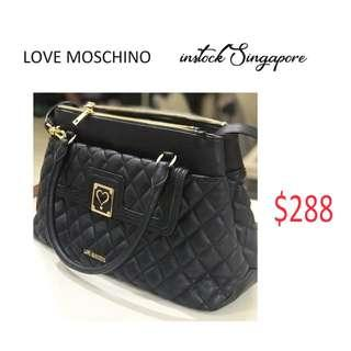 Brand New Instock Authentic Love Moschino Bag