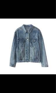 Oversized Denim Jacket 牛仔外套 褸