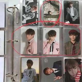 Taehyung Photocards