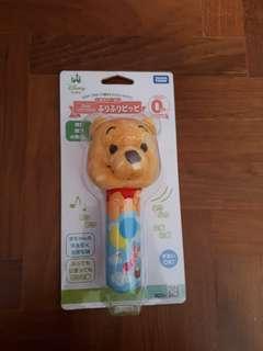 Pooh Bear baby toy sqeaker