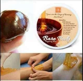 Bare body wax