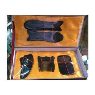 Facial and Body Guasha Scraping Massage x 5 pcs