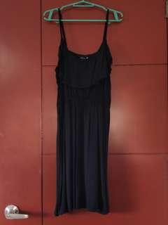 Cotton On Black Spaghetti Dress