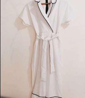 Pajamas White Jumpsuit