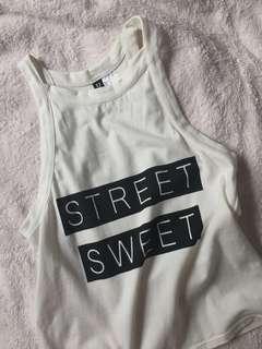 H&M street sweet halter too