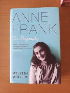 ANNE FRANK: THE BIOGRAPHY preloved HB