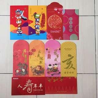10pcs 2019 CNY Angpow Red Packet