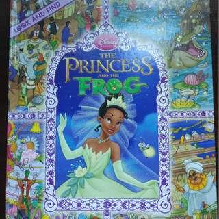 The Princes and the Frog – Disney Look and Find