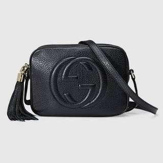 Fake Gucci Black Soho Bag