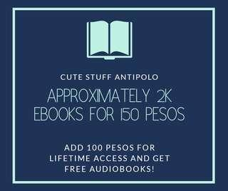 THOUSANDS OF EBOOKS FOR 150 PESOS!