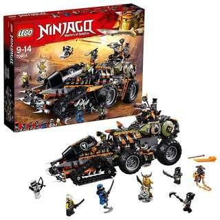 🚚 Lego Ninjago diesalnaut set 70654 *pls read desciption*