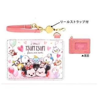 萌貓小店 日本直送-日本Disney系列Tsum Tsum咭套 ディズニー パスケース ツムツム