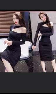 SuperDeal Black dress