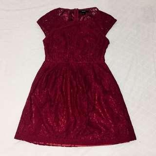 Forever 21 Lace Babydoll Dress
