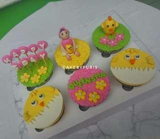 Cupcakes for Birthday Girl isi 6cup - TANGERANG