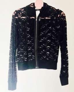 Mphosis Black Lace Jacket