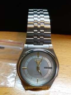 99.99新 精工星曆5  古董自動機械錶