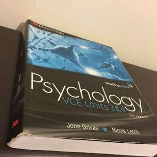 VCE Psychology Textbook 5th edition