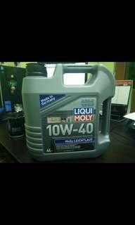 Liqui moly 10w40 with filter