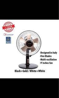 "Techsonic TS-fd689 9"" desk fan"