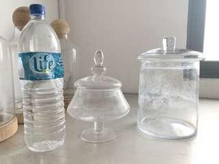Terrarium Apothecary glass jars