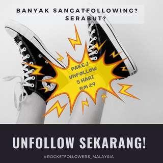 Servis unfollow instagram