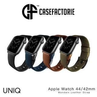 Uniq Mondain Leather Strap for Apple Watch 4/3/2/1 42MM/44MM