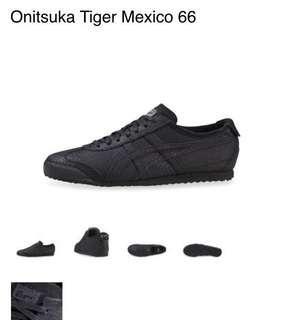 Onisuka Tiger Mexico 66 (all black)