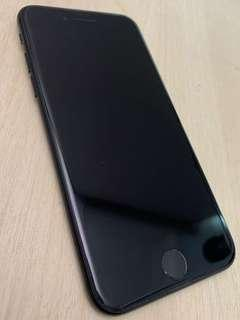 iPhone 7 Black 128GB with additional accessories
