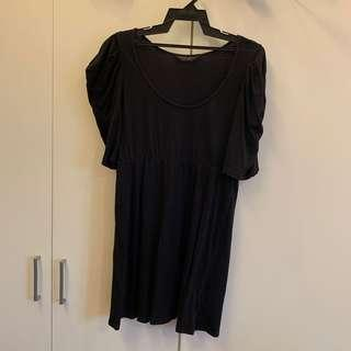 Dorothy Perkins Tunic Top Black (Plus Size)