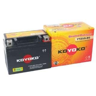 KOYOKO SEALED BATTERY YTZ5S-BS