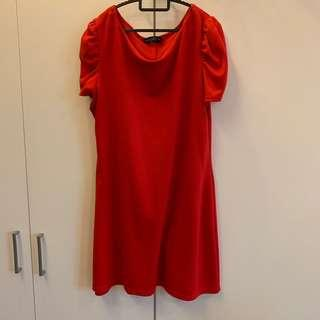 Dorothy Perkins Red Dress (Plus Size)