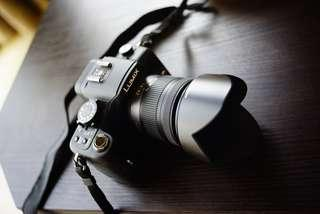 Panasonic Lumix G1 with 14-42mm kit lens