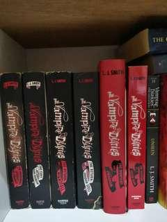 Vampire Diaries Books ALL
