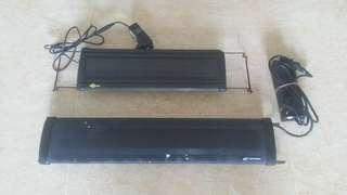 🚚 2 Feet aquarium lights (LED + T5}