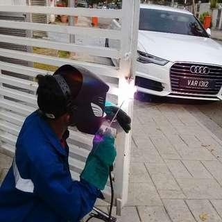 Welding and gate repair services.Klang Valley