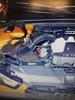 Audi Q5/A5/S5 cold air intake - AWE Carbon