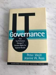 🚚 IT Governance by Peter Weill & Jeanne Ross